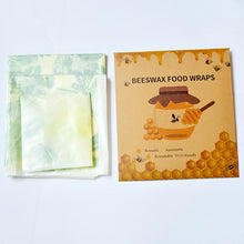 Load image into Gallery viewer, Zero Waste Reusable Beeswax Food Wrap