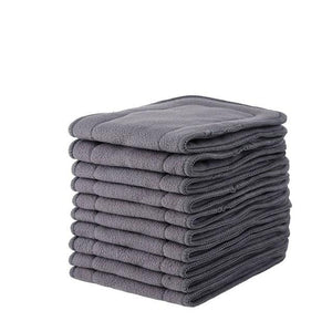 Ethel Mae Bamboo Charcoal Diaper Inserts for Reusable Washable Cloth Diaper