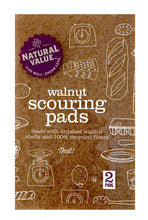 Load image into Gallery viewer, Walnut Scouring Pads