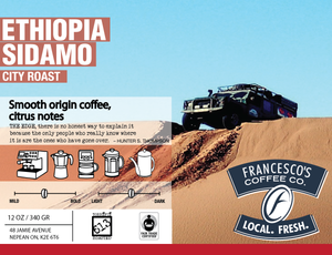 Load image into Gallery viewer, Ethiopian Sidamo - North Africa's Best - Light, Floral & Citrus
