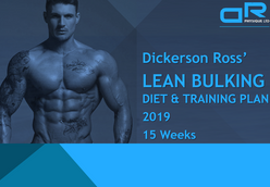 2019 Lean Bulking Diet & Training