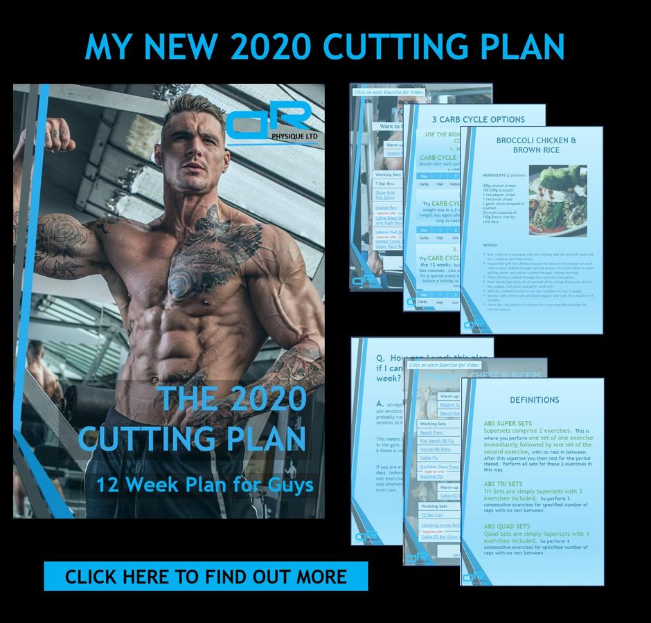 2020 Dickerson Ross Cutting Diet & Training