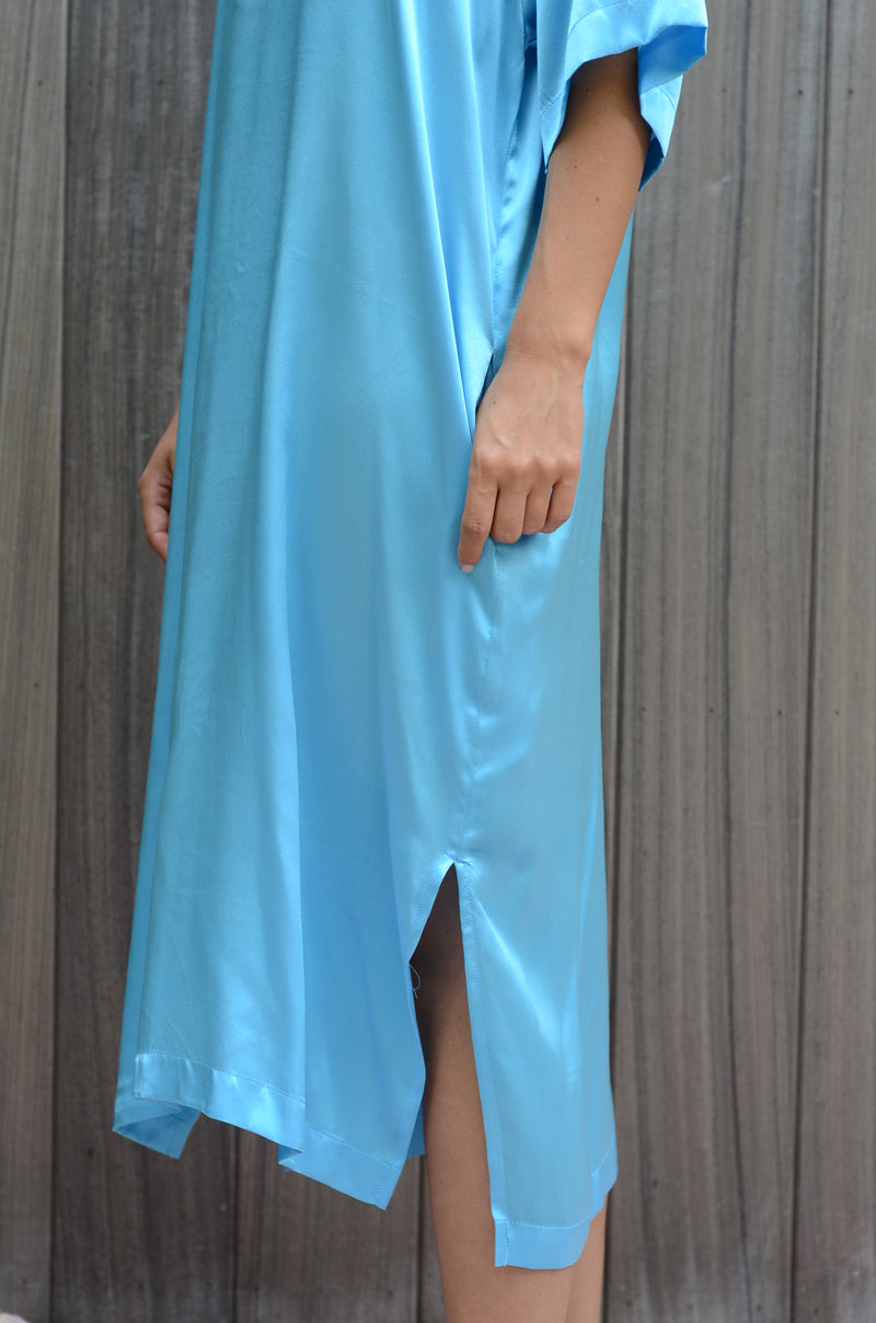 OAHU SILK RELAX DRESS