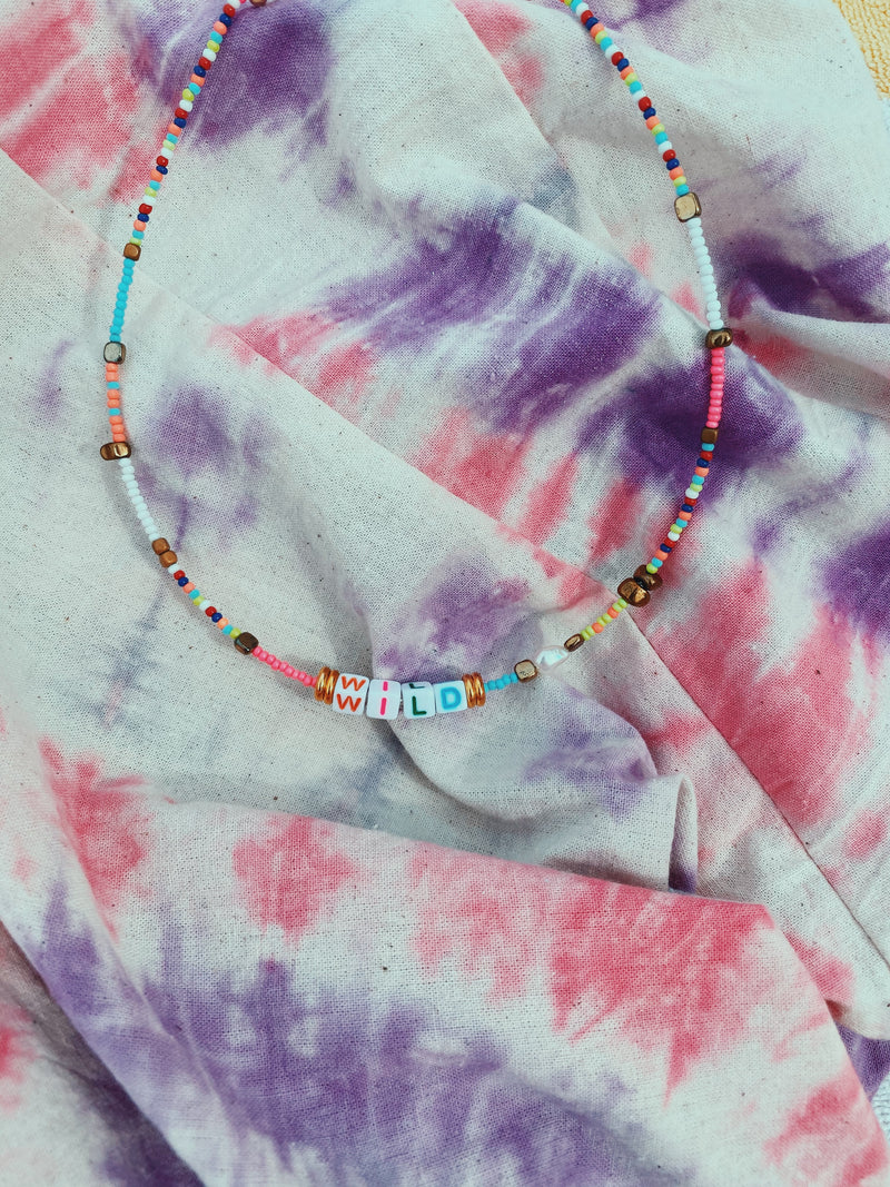 Wild Color Party Necklace