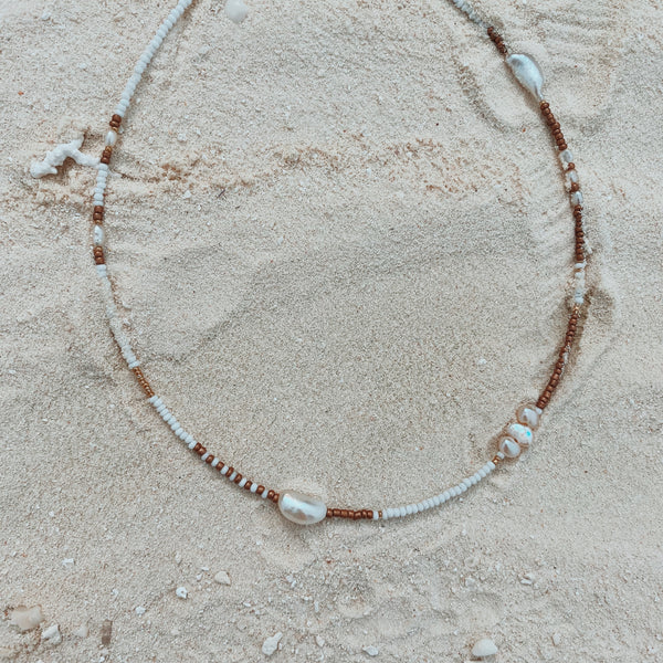 Fine Purity Pearl Necklace