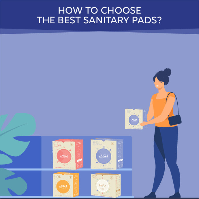How to choose the best sanitary pads?