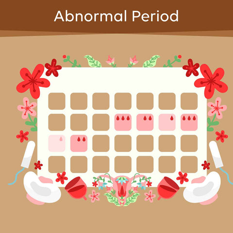 abnormal period issues