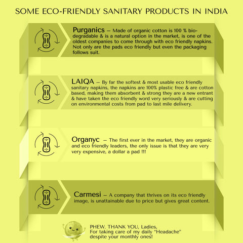 best eco friendly sanitary products