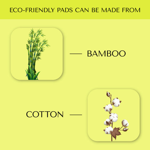 material used in eco-friendly pads