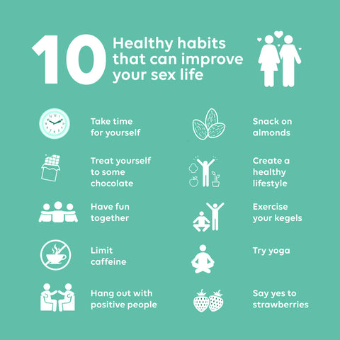 Healthy Habits that can Improve your Sex Life
