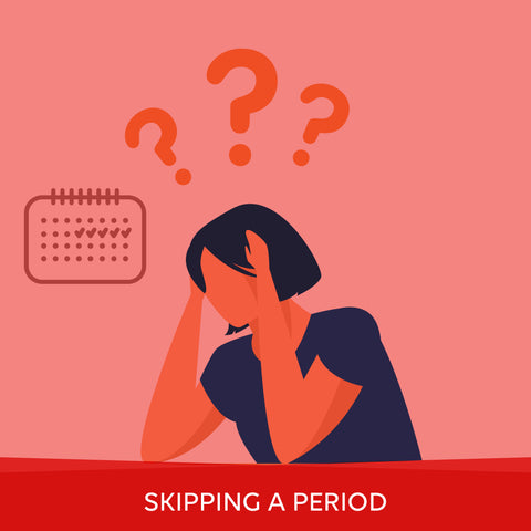 what happens when you skip a period