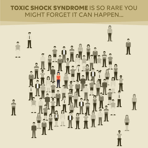 risk of toxic shock syndrome