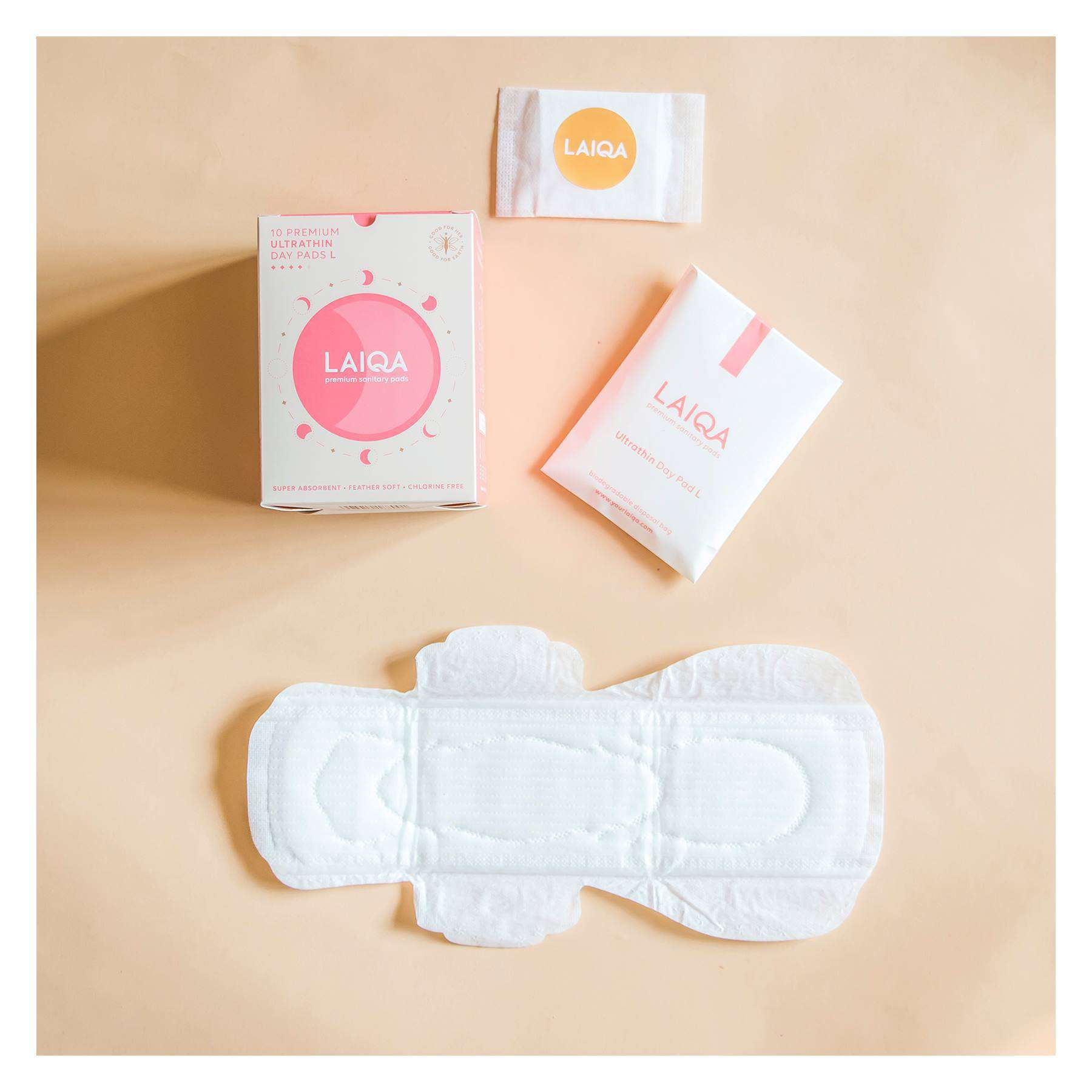 biodegradable pads online