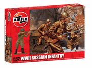 Airfix WWII Russian Infantry  Kit