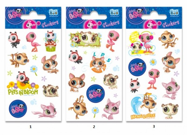 Autocolante Littlest Pet Shop