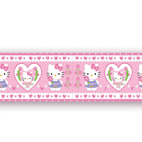 Bordura de perete Hello Kitty