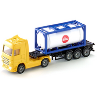 Camion Mercedes-Benz Actros cu container cisterna SIKU 1795 1:87