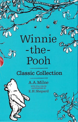 Set 5 carti Winnie-the-Pooh Classic Collection 90th Anniversary Slipcase by Alan Alexander Milne