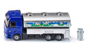 Cisterna transport lapte Mercedes Benz Actros Siku 1939 1:50