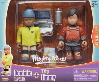 Dominic si Timmy Mighty World® Town Life