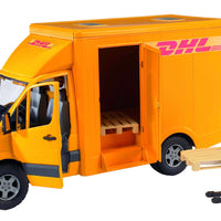 Mercedes Benz Sprinter DHL cu ridicator manual Bruder® 02534