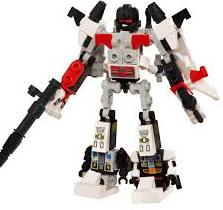 Figurina Superion Transformers KRE-O Micro Changers Combiners Hasbro