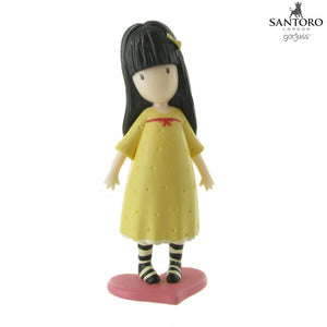 Figurina Gorjuss™ The Pretend Friend Comansi Y90113