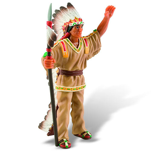 Figurina indian capetenie Bullyland