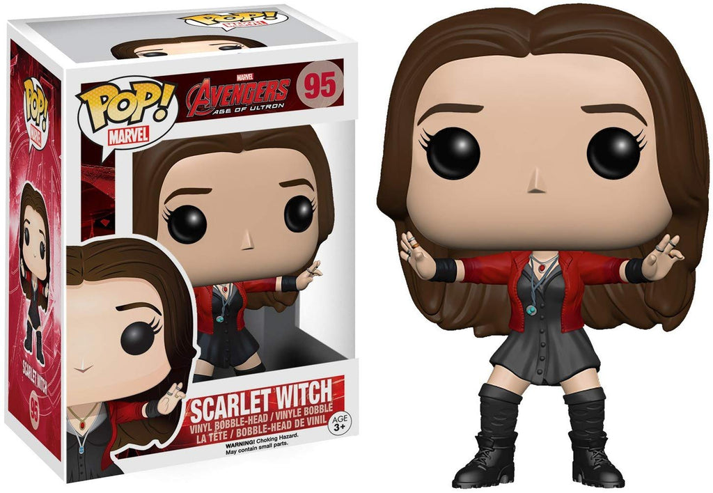Figurina din vinil Funko POP!® 95 Scarlet Witch Marvel Avengers 2