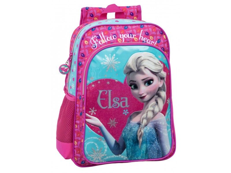 Ghiozdan Elsa Follow Your Heart Regatul de Gheata (Frozen) 40cm