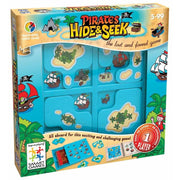 Joc de inteligenta Smart Games Hide & Seek Pirates Ascunde si Gaseste Piratii 5+ ani