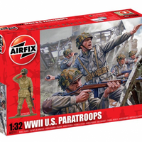 Airfix WWII U.S. Paratroops Kit