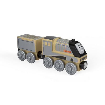 Trenulet Locomotiva din lemn Spencer cu vagon Thomas & Friends™ Wooden Railway FHM42 Y4074