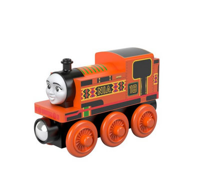 Locomotiva din lemn Nia Thomas & Friends™ Wood GGG31