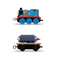 Locomotiva metalica Rocket Thomas cu vagon Thomas & Friends™ TrackMaster™ Push Along GHK71 GCK94