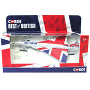 Macheta Avion metalic Concorde Corgi® Best of British GS84006