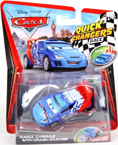 Masinuta Raoul Caroule Disney Cars 2 Quick Changers Race