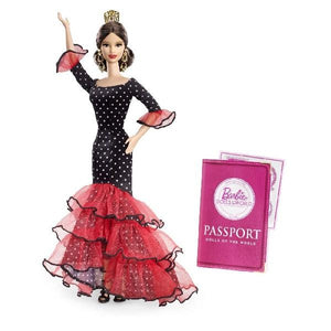 Papusa Barbie® Collector Dolls Of The World Spania Pink Label®
