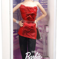 Papusa Barbie® Collector City Shine™ Red Dress Black Label®