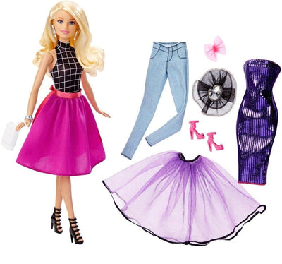 Papusa blonda Barbie® Fashion Mix 'N Match