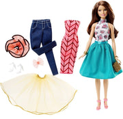 Papusa satena Barbie® Fashion Mix 'N Match DJW57 DJW59