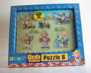 Puzzle din lemn Bob the Builder (A)