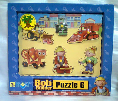 Puzzle din lemn Bob the Builder (B)
