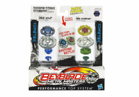 Set 2 titirezi Dark Wolf vs Ray Serpent  Beyblade Metal Masters