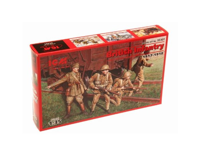 Set British Infantry 1917-1918 ICM