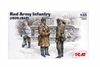 Set Red Army Infantry  ICM