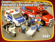 Set complet de interventie cu sunet si lumini Mighty World® Emergency