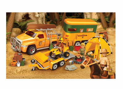 Set complet tabara Mighty World® Adventure