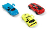 Set 3 machete metalice Mercedes Benz SLS AMG Coupe, Mercedes Benz SLR McLaren, Mercedes Benz 300 SL, Racing Colors, Editie Limitata 2020 SIKU 6214, Scara 1:55