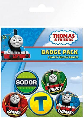 Set 5 insigne Thomas Percy James Sodor Thomas & Friends™ High Velocity